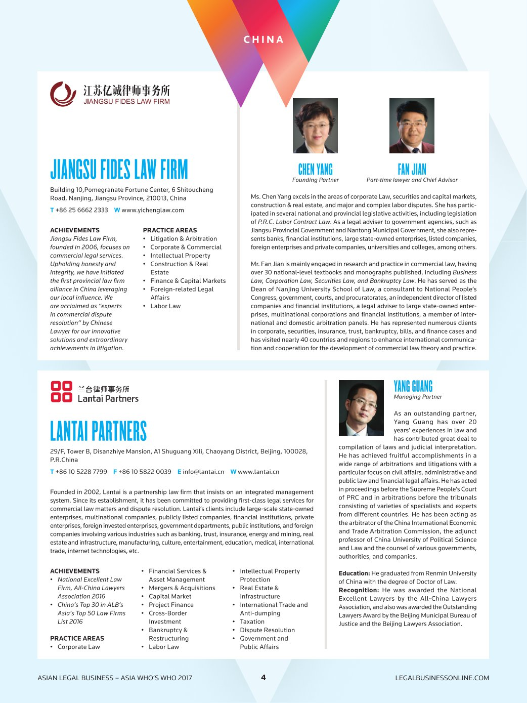 ASIAN LEGAL BUSINESS ASIAS WHOS WHO 2017