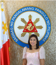 "Hon. Maria Leonor ""Leni"" Gerona Robredo, Vice President Republic of the Philippines"